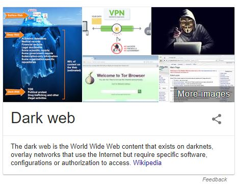 what is dark web