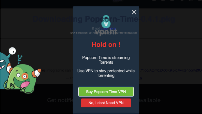 Why You Should Use VPN While Using Popcorn Time